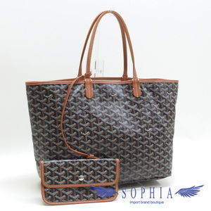 Goyard Saint Louis Pm Tote Bag Black