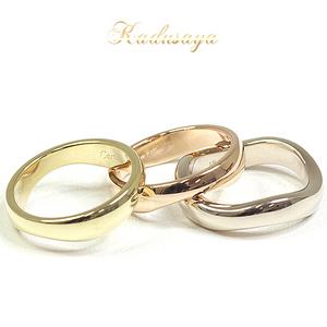 5a0e9c84f66d9 Cartier Love Me Ring Three Colors Gold K18yg / Wg Pg # 49 (9.5)