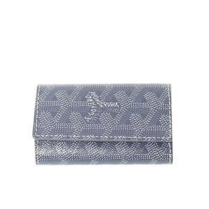 Goyard PVC Key Case Gray