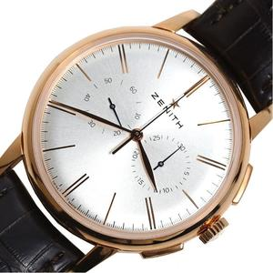 Zenith 18.2270.4069 Automatic Winding Rg Solid Women's Men's Watch