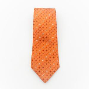 ルイ・ヴィトン(Louis Vuitton) メンズ ネクタイ シルク オレンジ