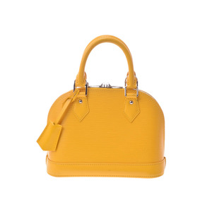 Louis Vuitton Epi M40866 Alma BB Women's Handbag Yellow