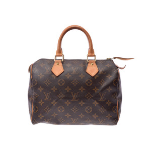 Louis Vuitton M41528 Speedy 25 Women's Handbag Monogram
