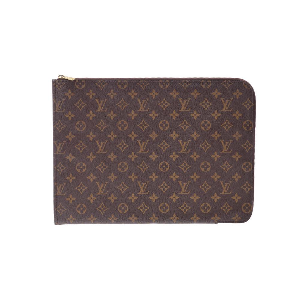 74ad0847ca2 Louis Vuitton Monogram M53456 Poche Documents Men s Clutch Bag Monogram