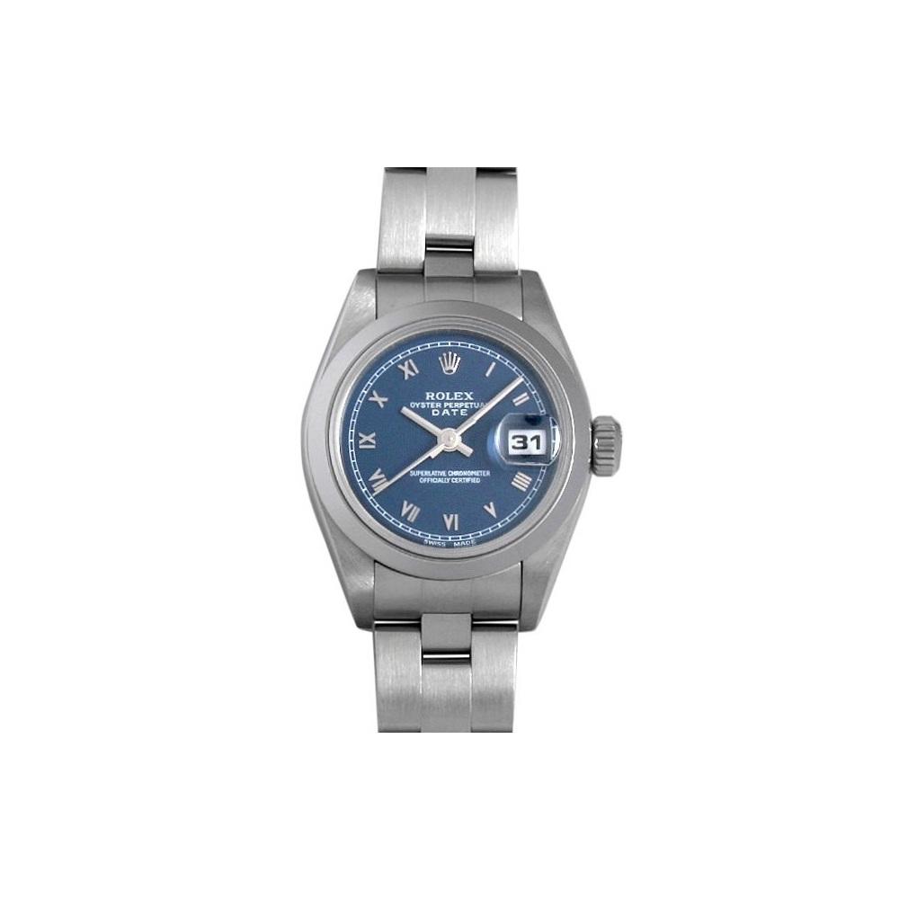 ロレックス(Rolex) オイスター・パーペチュアル・デイト 自動巻き ステンレススチール(SS) レディース カジュアルウォッチ 69160