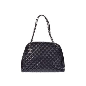 シャネル(Chanel) マドモアゼル レディース レザー ボストンバッグ ブラック