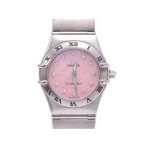 Omega Constellation Quartz Stainless Steel Women's Watch 1562.35