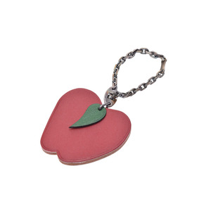 Hermes Pop Keyring (Green,Red)