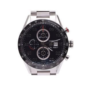 中古 タグホイヤー カレラキャリバー1887 CAR2A10-1 クロノ 裏スケ SS 自動巻 箱 メンズ 腕時計 TAG Heuer