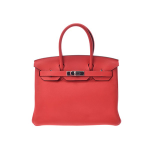 Hermes Birkin Women's Taurillon Clemence Leather Handbag