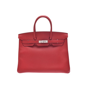 Hermes Birkin Women's Leather Handbag Rouge Casaque