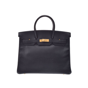 Hermes Birkin Women's Ardennes Leather Handbag Black