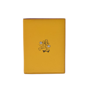 Coach Planner Cover Yellow Disney Passport Cover
