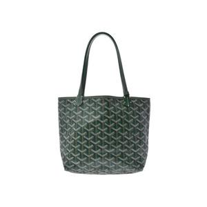 Goyard Saint Louis Women's PVC,Leather Tote Bag Green
