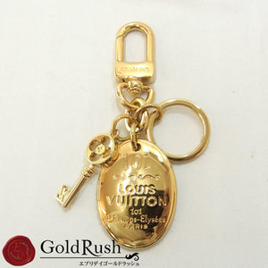 Louis Vuitton Keyring (Gold) M65086