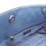 シャネル(Chanel) チェーントート A98620 レディース レザー トートバッグ ネイビー