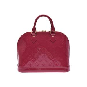 Louis Vuitton Vernis M91771 Alma BB Women's Handbag Indian Rose
