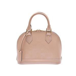 Louis Vuitton Vernis M90175 Alma BB Women's Bag Dune