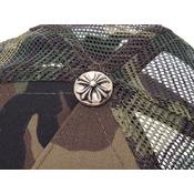 クロム・ハーツ(Chrome Hearts) 新品 クロムハーツ TRUCKER CAP FUCK パッチ カモフラージュ CHROME HEARTS◇