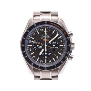 中古 オメガ スピードマスター コーアクシャル ソーラー インパルス TI 321.90.44.52.01.001 箱 ギャラ 自動巻 メンズ 腕時計 OMEGA◇