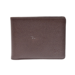 ルイ・ヴィトン(Louis Vuitton) 中古 ルイヴィトン タイガ 二つ折札入れ グリズリ M30482 メンズ LOUIS VUITTON◇
