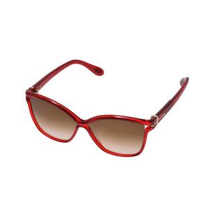 New Article Trussardi Sunglasses Td 15719 Re Red Case Men's Ladies ◇