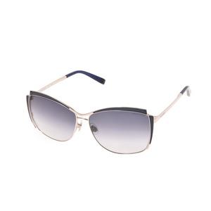 New Trussardi Sunglasses Tr12839 Bl Blue / Silver Case Men's Ladies ◇