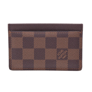 Louis Vuitton Damier  Card Case Damier Canvas N61722