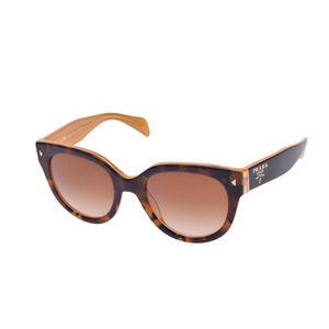 Chanel Unisex Eyeglasses Tortoiseshell Brown