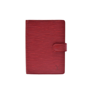 Louis Vuitton Epi Planner Cover Red R20057