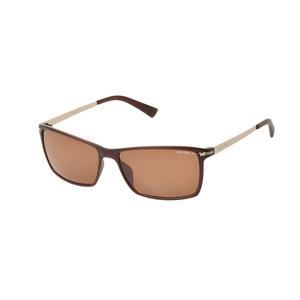 New Police Sunglasses Look Back3 S1957-z55p Tea Case Men's Ladies ◇