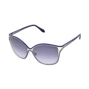 New Trussardi Sunglasses Td 15718 Bl Blue Case Men's Ladies ◇