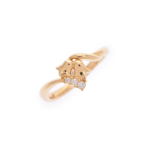 Christian Dior Second Hand Dior Ring Yg Diamond