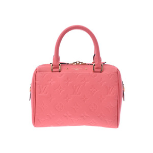 Used Louis Vuitton Anplant Speedy Band Riel 20 With Blossom Strap M42398 Ladies Bag New ◇