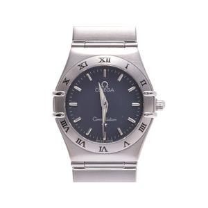 中古 オメガ コンステレーション1572.40 SS ブルーグレー系文字盤 ギャラ クオーツ 腕時計 レディース OMEGA◇