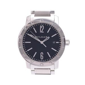 中古 ブルガリ ブルガリブルガリ BB41BSSD SS 黒文字盤 内箱 ギャラ 自動巻 メンズ 腕時計 BVLGARI◇