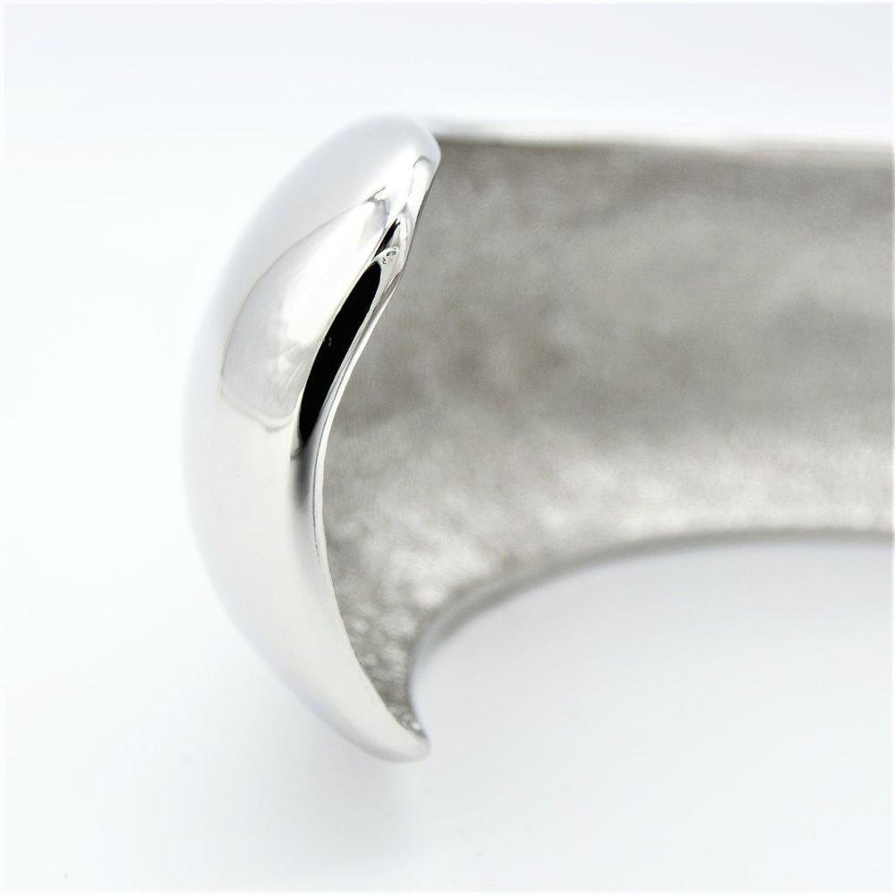 シャネル(Chanel) 合金 バングル シルバー ロジウムメッキ