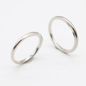 ヨンドシィ(4℃) Pt950(プラチナ) 婚約&結婚式用 ウェディングリング プラチナ ロジウムメッキ ペアリング マリッジリング