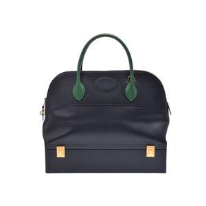Used Hermès Mcpherson Kushubel Blue Indigo ○ U Engraved Strap Hermes ◇