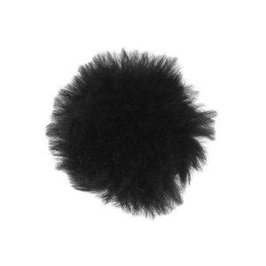 バレンシアガ(Balenciaga) BALENCIAGA バレンシアガ レディース ファーリング 指輪 黒 ブラック 金 ゴールド 10号  [20180409]