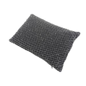 BOTTEGA VENETA ボッテガヴェネタ イントレチャート ミニクッション 枕 黒 ブラック 白 ホワイト  [20171221]