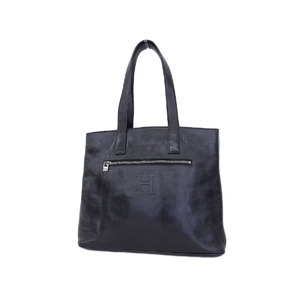 Hirofu Hirof Leather Tote Bag Black Shoulder [20180712]