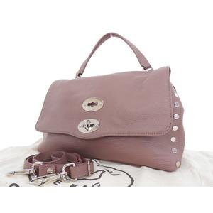 Zanellato Zanelato Postina S 2way Handbag Shoulder Leather Purple System [20180720]