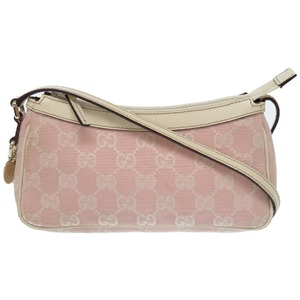 Gucci Gg Canvas Pouch 154432 Pink 0176