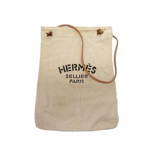 Hermes Alline Gm Shoulder Bag Canvas 0222