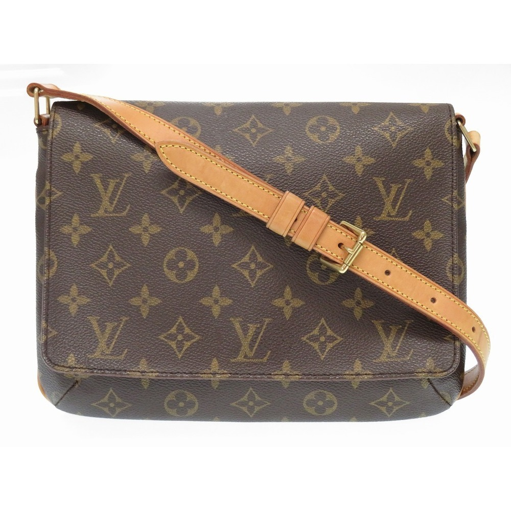 eef4b1ba9741 Louis Vuitton Monogram Musette Tango Short Strap Shoulder Bag M51257 Lv  0074louis
