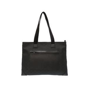 Gucci Gg Nylon Black 180449 Tote Bag 0439 As New