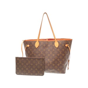 Louis Vuitton Monogram Never Full Mm Tote Bag Fuchsia M40996 With Pouch Lv 0373