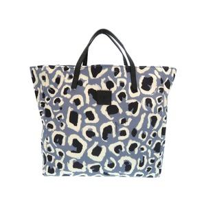 Gucci Baby Kids Line Bear Canvas Blue As New 244721 Handbag Bag 0415