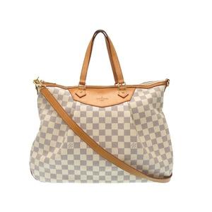 Louis Vuitton Damier Azur Silak - Sa Gm N 41111 Shoulder Bag Lv 0475